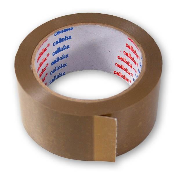 Brown vinyl packing tape mm m
