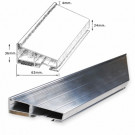 Aluminium 36 mm Conservation Bars