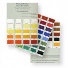 Michael Harding artists' Oil Colour Handmade Chart