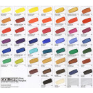 Golden Fluid Acrylic Hand Painted Colour Chart