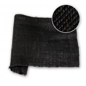 Hessian Dyed 36 in / 91 cm Black