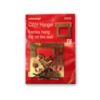 Recktangle Canvas Wrap Hanger, Hanging Pack of 2