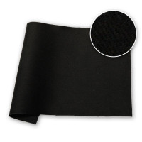 Bolton Twill Russell and Chapple NDFR Black 48 in / 122 cm