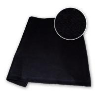 Black Polyester Stage Felt 210gsm DFR 126in / 320cm