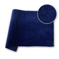 Cotton Velvet Velour DFR Dark Blue 48 in / 122 cm