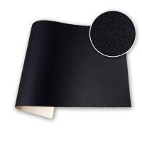 Sample 12oz Acrylic Primed Cotton Duck Black Gesso