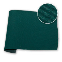 Bottle Green PU Coated Acrylic Canvas 59 in / 150 cm