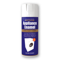 Rustoleum 400ml Areosol Appliance Enamel White Gloss