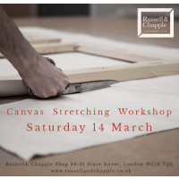 Canvas Stretching Workshop 14th March 2020