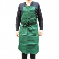 Cornelissen Green Cotton Artists' Apron