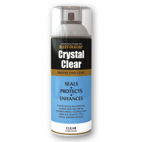Rustoleum 400ml Areosol Crystal Clear Varnish