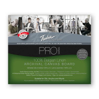 Fredrix Archival Acrylic Primed Linen Boards
