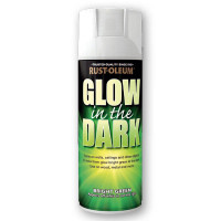 Rustoleum 400ml Areosol Glow In The Dark