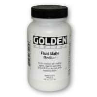 Golden Matte Medium Fluid