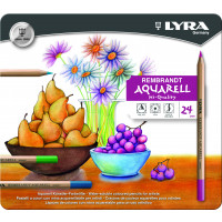 Lyra Rembrandt Aquarell Metal Box 24
