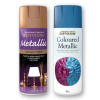 Rustoleum Metallic Sprays