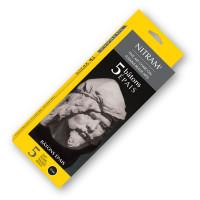 Nitram Charcoal Soft Medium 12mm