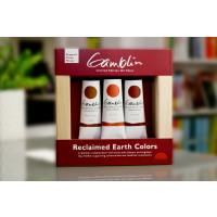 Gamblin Reclaimed Earth Oil Tube Set Limited Edition